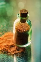 sand in a bottle by Anti-Pati-ya