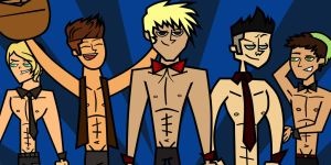 Magic Mike - Total Drama Oc's by Hey-Hollywood