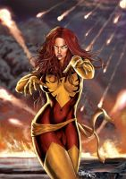 Dark Phoenix by earache-J