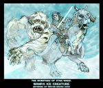 The Wampa by BryanBaugh