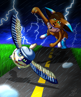 The Chase of your Life by eevee4everX3
