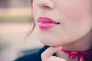 Pink Lips by RahLuna