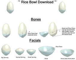 MMD Rice Bowl Download by MiraMiraDance