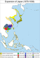 Expansion of Japan 1878-1938 by AnalyticalEngine