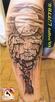 crying tree by bullettattoobg