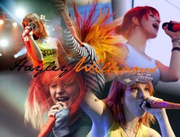 Hayley Williams Paramore by Rachellaa
