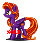 Holiday Pony adoptable - Halloween [closed] by selinmarsou