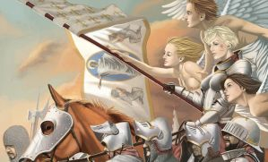 Joan of Arc by wingwingwingwing