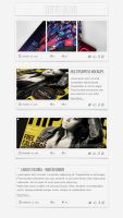 Note Blog - Free PSD by CarlosViloria