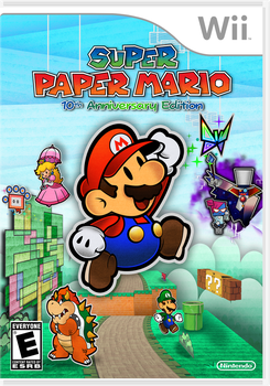 Super Paper Mario 10th Anniversary Edition- Wii by Fawfulthegreat64