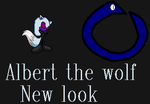 Albert the wolf's new look by NiccoRae77
