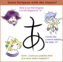 Hirigana Lesson 1 by irk