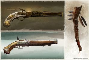 Connor Weapons by Okmer