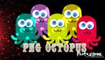 5 PNG octopus by photosoma