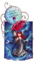 Christian and Satine-  Moulin Rouge by Iluvendure