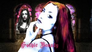Gothic Beauty by diva42