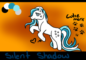 Silent Shadow Ref Sheet by Aevaln