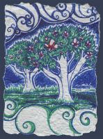 Memory Trees : Card Six by impluvium