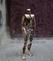 Six (Articulated Watch Parts Figure) by AMechanicalMind