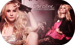 Caroline Forbes Blend by ImYourPoison
