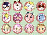 Animal Crossing charas by hinivaal
