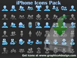 iPhone Icons Pack by shockvideo