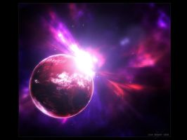 The cosmic explosion by hunter2