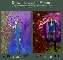 Before and After meme by Kaneladit