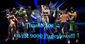 Thanks for OVER 9000 Pageviews by IamSubZero