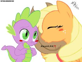 Applespike request for DawnFelix by RuttoSSJ