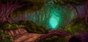 Forest of Forboding by ThisCrispyKat