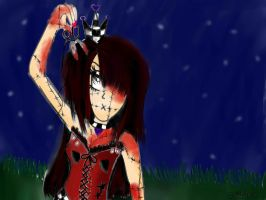 Gothic Doll by chatwithstar