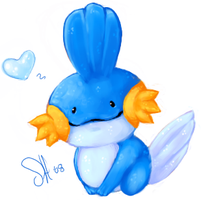 Mudkip by Deviously-Devi