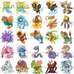 Terapet 2 Creatures by polawat