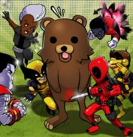 x-babies vs pedobear by m7781