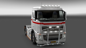 The English Flag Truck by LarsMental