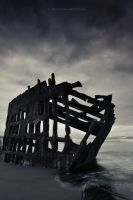 Peter Iredale ghost ship by pyro303