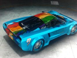 MCLA Rainbow Dash Re-Skin by H2oOctane