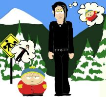 XDDDD Davey and Cartman by Anarchpeace