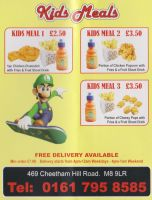 Delicious Amazing Curry Leaflet - Kids Meals by xFlowerstarx