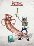Inhuman anatomy - Adventure Time by AlessandroConti