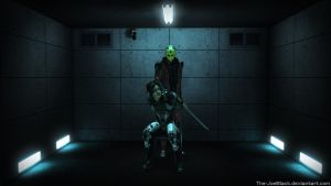Mass Effect - Interrogation Room by JoesHouseOfArt
