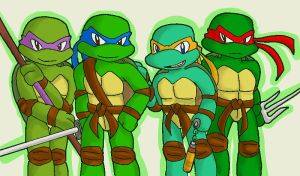 TMNT group pic by koju327