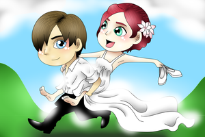 Special moment 1 (Newlyweds) by NurulSlaluwBluee