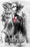 Mycroft Systems White Fire Lockscreen by akatsukinoshimo