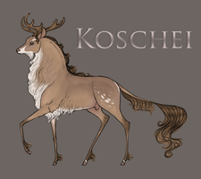 Koschei | Stag | Herd Member by SilveringOak