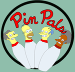 The Simpsons - Pin Pals by LeeJamieson