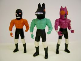 Wrestling Action Figures 5 by Teagle