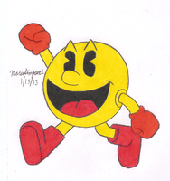 Pac Man by MarioSimpson1