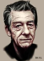 John Hurt by Push-The-Limits